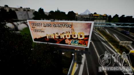 Realistic Airport Billboard для GTA 4 шестой скриншот