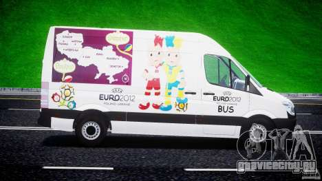 Mercedes-Benz Sprinter Euro 2012 для GTA 4 вид слева