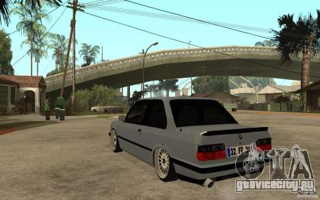 BMW E30 CebeL Tuning для GTA San Andreas