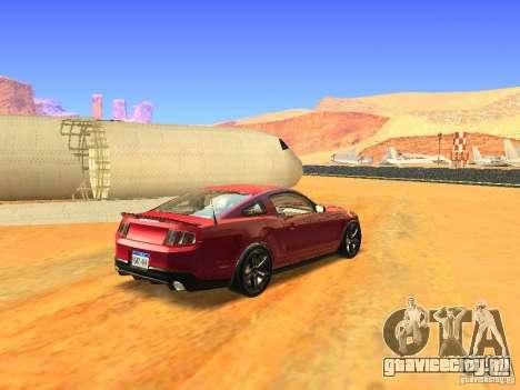 Ford Shelby GT500 для GTA San Andreas вид слева