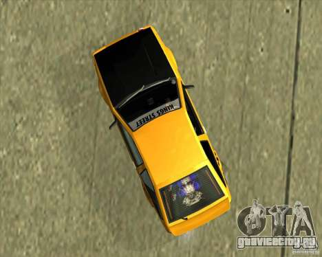 Toyota AE86 Levin для GTA San Andreas вид справа