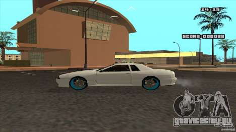 Drift Elegy by KaLaSh для GTA San Andreas вид сзади слева