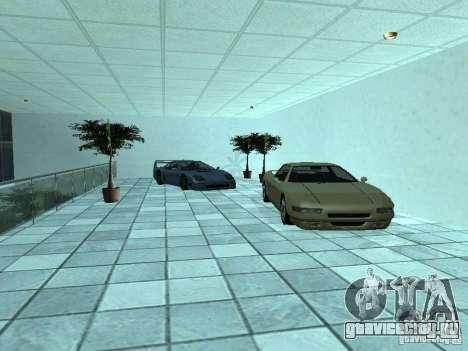 Больше машин в автосалоне в Догерти для GTA San Andreas пятый скриншот