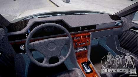 Mercedes-Benz W124 E500 1995 для GTA 4 вид справа