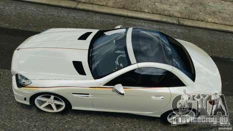 Mercedes-Benz SLK 2012 v1.0 [RIV] для GTA 4 вид справа