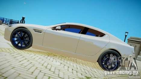 Aston Martin Rapide для GTA 4 вид сзади слева