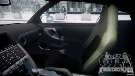 Nissan GTR R35 SpecV v1.0 для GTA 4 вид сверху