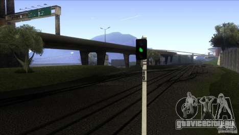 Новый алгоритм движения поездов 5 для GTA San Andreas третий скриншот
