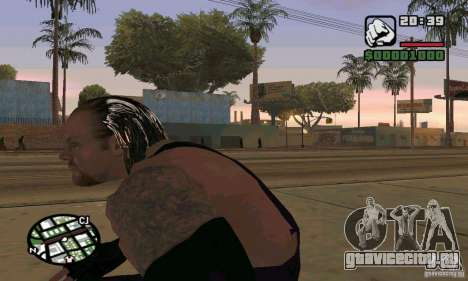 Гробовщик из Smackdown 2 для GTA San Andreas четвёртый скриншот