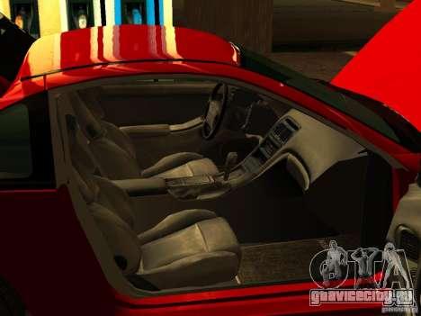 Nissan 300ZX для GTA San Andreas вид сзади