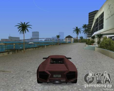 Lamborghini Reventon для GTA Vice City вид слева