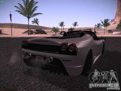 Ferrari F430 Scuderia M16 для GTA San Andreas вид сзади слева