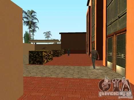 Новые текстуры для станции Юнити для GTA San Andreas третий скриншот