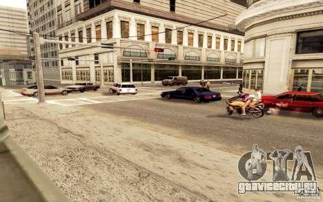Новый алгоритм трафика автомобилей для GTA San Andreas второй скриншот