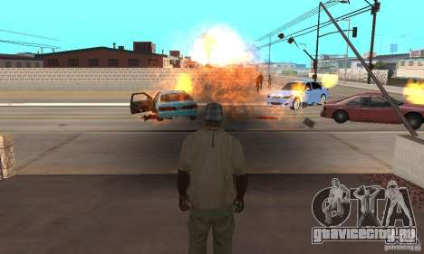 Hot adrenaline effects v1.0 для GTA San Andreas третий скриншот