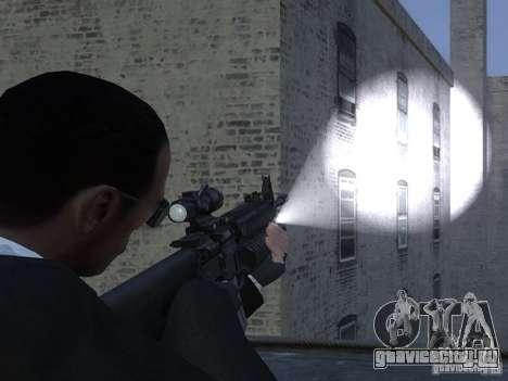 Flashlight 4 Weapons v1.0 для GTA 4