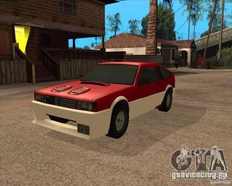 Улучшенная Blistac для GTA San Andreas вид сзади