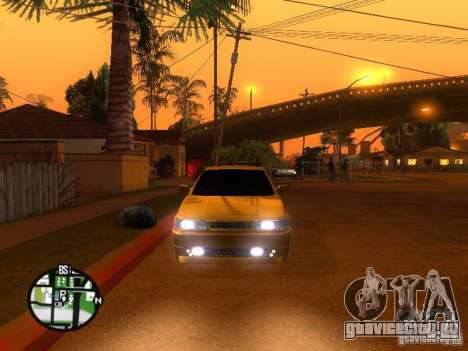 Ваз 2112 Tuning для GTA San Andreas вид сзади