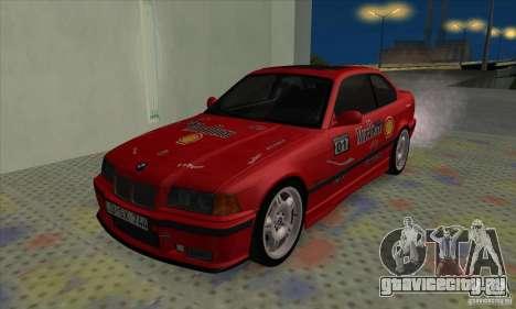 BMW M3 E36 для GTA San Andreas салон