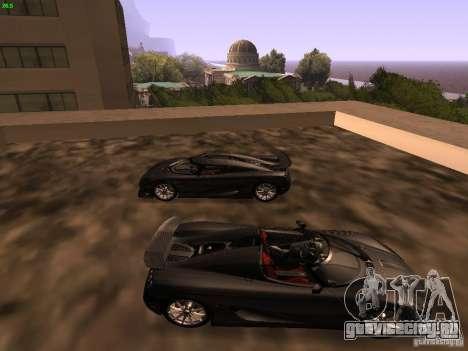 Koenigsegg CCXR Edition для GTA San Andreas вид слева