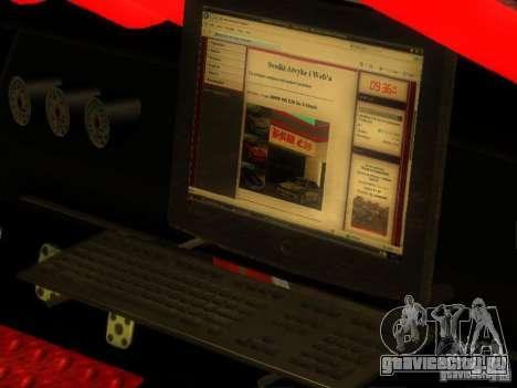 Buffalo DTM v2 для GTA San Andreas вид сзади слева