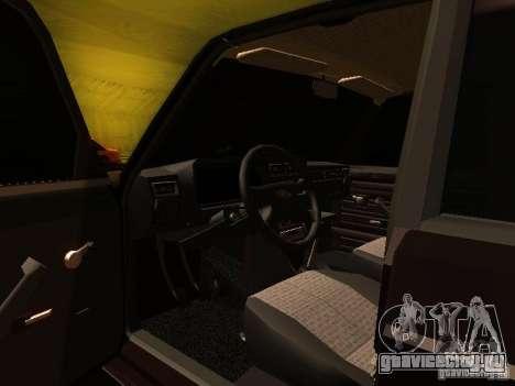 ВАЗ 2107 X-Style для GTA San Andreas вид сбоку