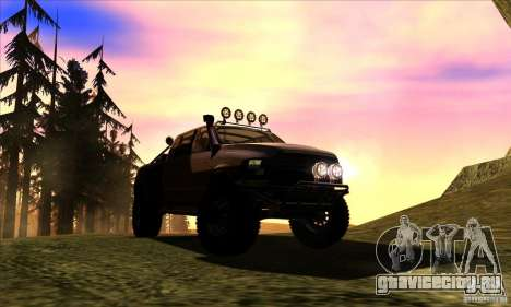 Dodge Ram All Terrain Carryer для GTA San Andreas вид сзади