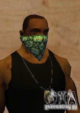 New Bandanas Style для GTA San Andreas третий скриншот