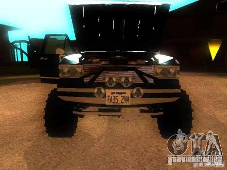 Ford F150 Off-Road для GTA San Andreas вид сзади слева