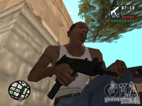 UZI для GTA San Andreas