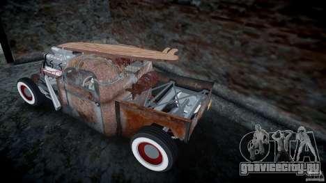 Ford RatRoad 1936 для GTA 4 вид сверху