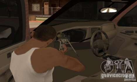 Chevrolet Suburban для GTA San Andreas вид сверху