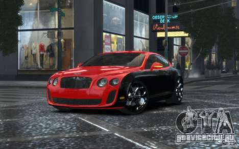 Bentley Continental SS MansorY для GTA 4