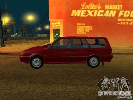 ВАЗ 2114 Универсал для GTA San Andreas вид сзади слева