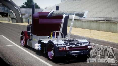Peterbilt Sport Truck Custom для GTA 4 вид сбоку