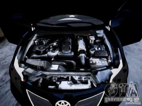 Toyota Camry для GTA 4 вид сверху