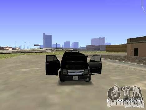 Burrito HD для GTA San Andreas вид сзади слева