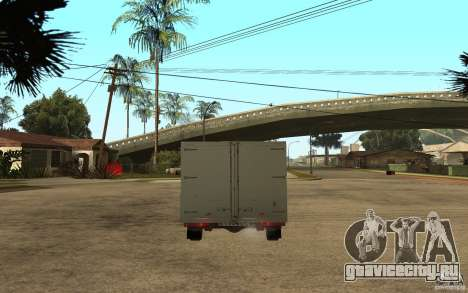 ВИС 2345 для GTA San Andreas вид сзади слева