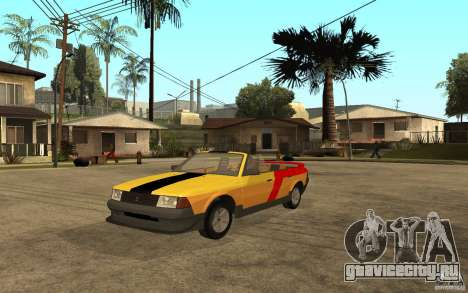 Москвич 2141 Cabriolet для GTA San Andreas вид слева
