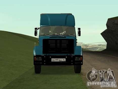 ЗиЛ 133 для GTA San Andreas вид сзади слева