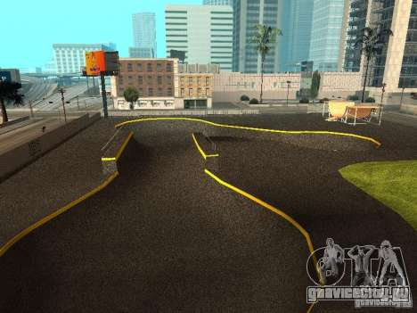 New SkatePark для GTA San Andreas третий скриншот
