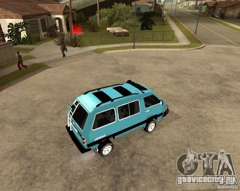Toyota Town Ace для GTA San Andreas