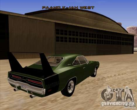 Dodge Charger Daytona 1969 для GTA San Andreas вид справа