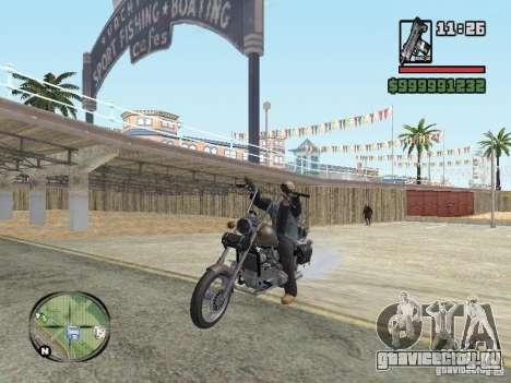 Vagos Biker для GTA San Andreas третий скриншот
