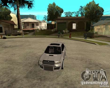 Skoda Superb Light Tuning для GTA San Andreas вид изнутри