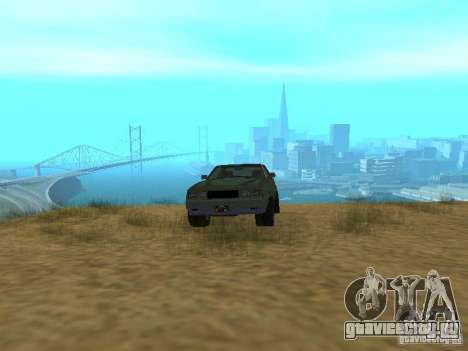 Emperor Rusty из GTA 4 для GTA San Andreas вид сзади