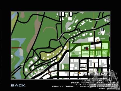 Ultra HD Карта для GTA San Andreas четвёртый скриншот