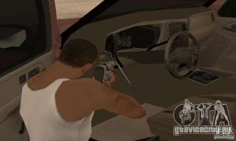 Chevrolet Suburban для GTA San Andreas салон
