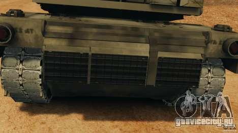 M1A2 Abrams для GTA 4 вид изнутри