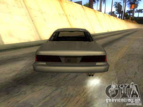 Merit Coupe для GTA San Andreas вид сзади слева